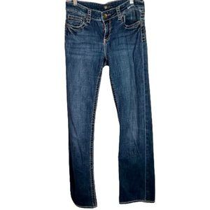Kut from the Kloth Bootcut Jeans High Rise Button